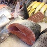 Mercado de pescados en Hong-Kong Fotografía de archivo