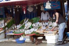 Mercado de pescados - Estambul Fotos de archivo