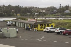 Mercado de pescados, Kiama - NSW, Australia Fotos de archivo
