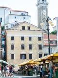 Mercado de Piran Fotografia de Stock Royalty Free