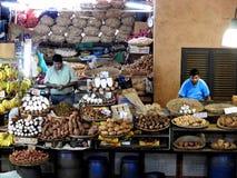 Mercado de Port Louis, capital de Maurícias Imagem de Stock