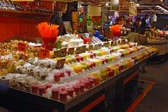 Mercado de producto central imagen de archivo libre de regalías