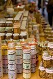 Mercado de productos de la artesanía Imágenes de archivo libres de regalías