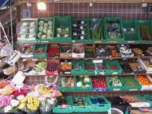 Mercado de produto do verdureiro em Oslo Fotografia de Stock