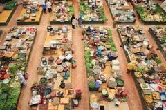 Mercado de produto fresco imagens de stock