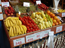 Mercado de produto fresco Imagens de Stock Royalty Free