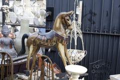 Mercado de pulga Imagens de Stock Royalty Free