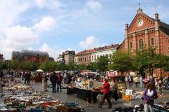 Mercado de pulga Imagem de Stock Royalty Free