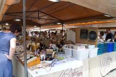 Mercado de pulga Imagens de Stock