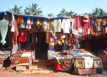 Mercado de pulga em Goa Imagens de Stock Royalty Free