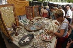 Mercado de pulgas 023 Fotos de archivo libres de regalías