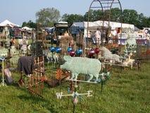 Mercado de pulgas al aire libre Foto de archivo libre de regalías