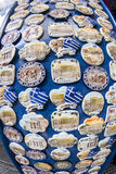 Mercado de pulgas de Monastiraki domingo Fotos de archivo libres de regalías