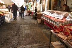 Mercado de pulgas de Salónica Fotografía de archivo