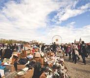 Mercado de pulgas del aire abierto de MUNICH Fotografía de archivo libre de regalías