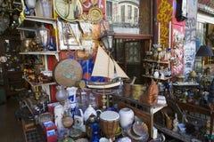 Mercado de pulgas en Athen Imagenes de archivo