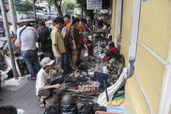 Mercado de pulgas en Bangkok imágenes de archivo libres de regalías