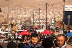 Mercado de pulgas en Iraq Imagen de archivo libre de regalías