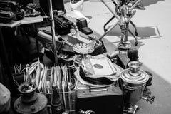 Mercado de pulgas en Izmailovo fotos de archivo libres de regalías