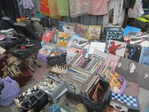 Mercado de pulgas en Kiev Imagen de archivo
