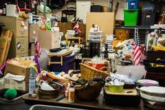 Mercado de pulgas interno de Charlestown WV Fotos de archivo libres de regalías
