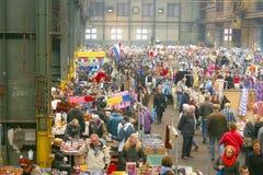 Mercado de pulgas retro del vintage, IJ-Hallen, Amsterdam Imagenes de archivo