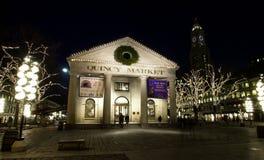 Mercado de Quincy, Boston, mA Imágenes de archivo libres de regalías