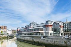 Mercado de Ribera en Bilbao, Bizkaia, counrtry vasco, España Imagen de archivo libre de regalías