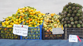 Mercado de rua Foto de Stock