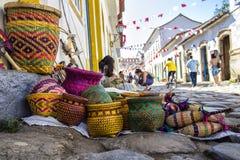 Mercado de rua Fotos de Stock Royalty Free