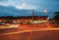 Mercado de rua da noite Fotografia de Stock Royalty Free