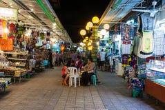 Mercado de rua da noite Imagem de Stock Royalty Free