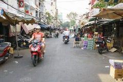 Mercado de rua de Ho Chi Minh City Imagem de Stock