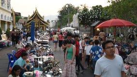 Mercado de rua de passeio filme