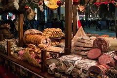 Mercado de rua do Natal em Milão, Itália Imagem de Stock Royalty Free