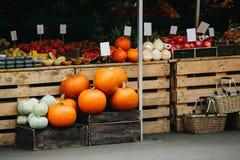 Mercado de rua dos fazendeiros imagens de stock