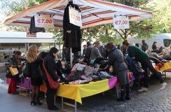 Mercado de rua em Roma Imagem de Stock