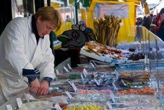 Mercado de rua em Viena Foto de Stock