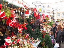 Mercado de Santa Llucia, Barcelona Fotografia de Stock