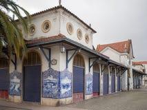 Mercado de Santarem Imagenes de archivo