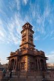 Mercado de Sardar de la torre de reloj Fotos de archivo libres de regalías