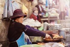 Mercado de Siti Khadijah Imágenes de archivo libres de regalías