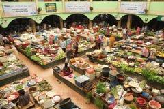 Mercado de Siti Khadijah fotografía de archivo