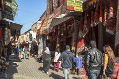 Mercado de Souk de C4marraquexe, Marrocos Imagens de Stock