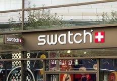 Mercado de Swatch imágenes de archivo libres de regalías