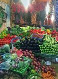 Mercado de Tánger Foto de archivo