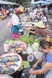MERCADO DE TAILANDIA BURIRAM SATUEK Foto de archivo libre de regalías