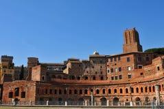 Mercado de Trajan en Roma, Italia Foto de archivo