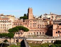 Mercado de Trajans, Roma Fotografía de archivo libre de regalías