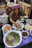 Mercado de Ubud Imagenes de archivo